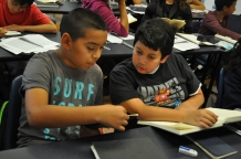 DaVinci Camp Scholars are sharing their creative stories in partners.