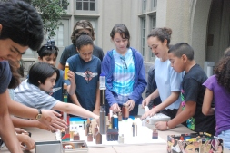 Creative scholars are challenged into building a model of their own city of Berkeley.