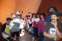 Fancy French Hats, inside Richard Serra's Monumental sculpture 'Sequence' at Stanford's Cantor Arts Center