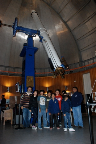 DaVinci Camp at the Lick Observatory to learn more outer space.