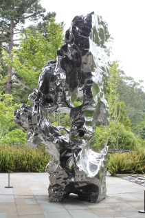 One of the many interesting sculptures at the de Young Museum