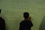 You Can Count On Me - Young scholar cracking down on counting problem provided with a little bit of whiteboard action!