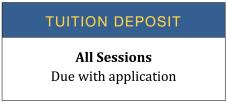 Tuition Deposit 2021