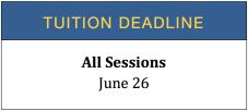 Tuition Deadline 2021